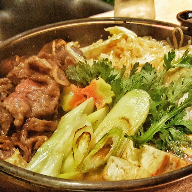 Best Sukiyaki In Singapore