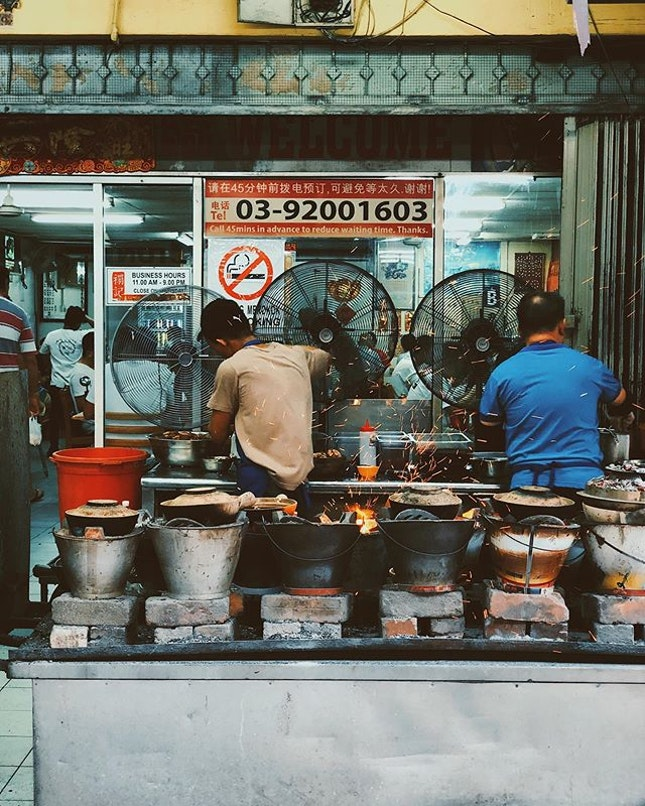 This place still cooks their Claypot Chicken Rice over charcoal stoves.