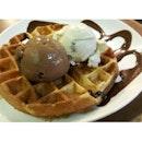 waffles Icecream
