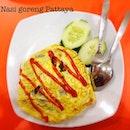 Nasi goreng Pattaya at Kedai Sarbindo.