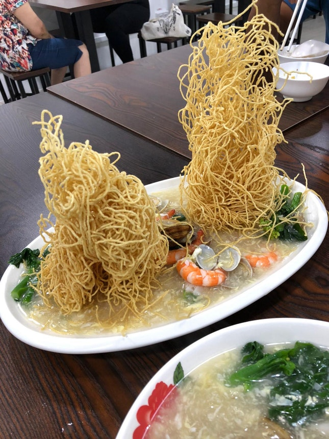 Chef's Famous Twin Tower