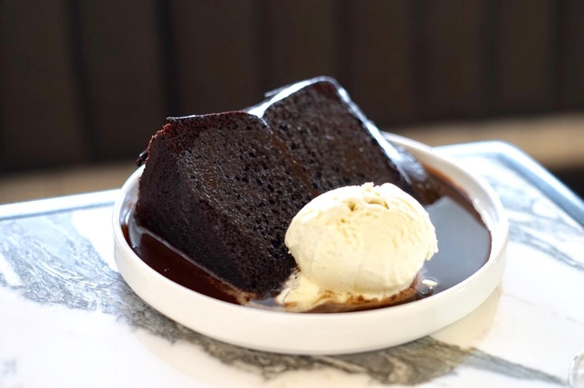 Chocolatey Fudgy Cake