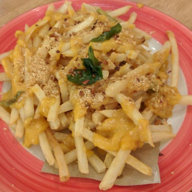 Salted Egg Yolk Fries