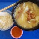 Solid Mixed Sliced Fish Soup