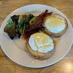 Eggs Benedict [$6.80]