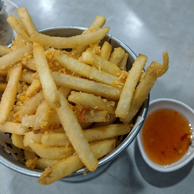Tom Yum Fries [~$6]