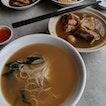 BKT Pork Ribs with Mee Sua [$7 + $3.50]