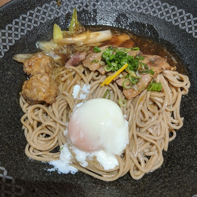 Duck Meat Soba