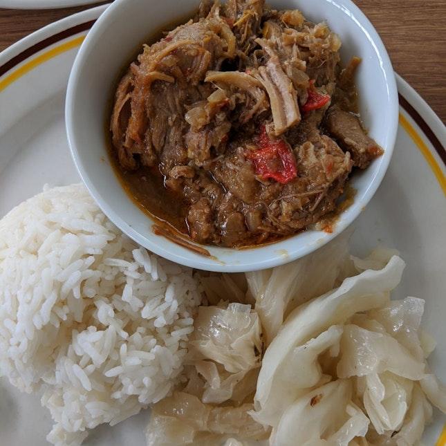 Pork Curry Assam [$8.50 set]