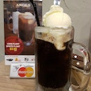 It could almost pass off ad a classic A&W root beer float!
