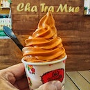 Thai Milk Tea soft serve.