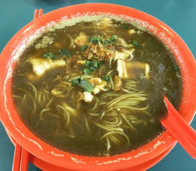 Black Herbal Chicken Lean Meat Mee Suan