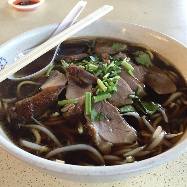 Duck Noodles Soup