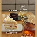 Cake ($9+) Tea ($5+)