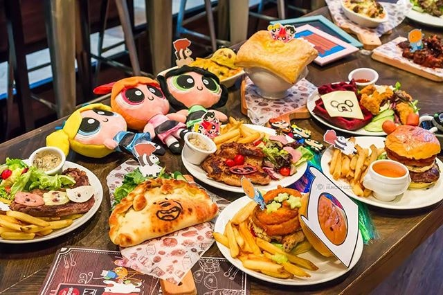 Singapore's first Cartoon Network Cafe by The Soup Spoon is officially opening today!