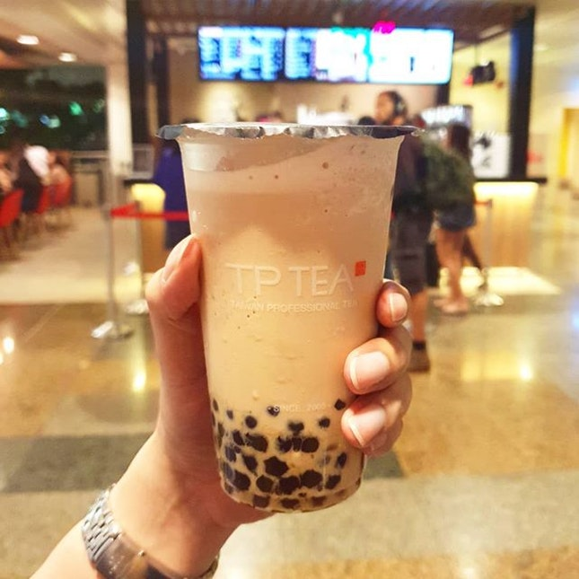 Authentic Taiwan milk tea 😋🥤at Changi Airport T2!