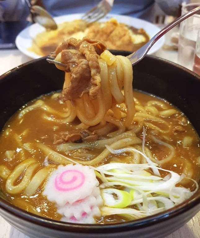 Beef Curry Udon @cocoichibanyasg.