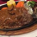 Ship Steak ($38.90) executive set with soup, drink & dessert 🐮 U.S.