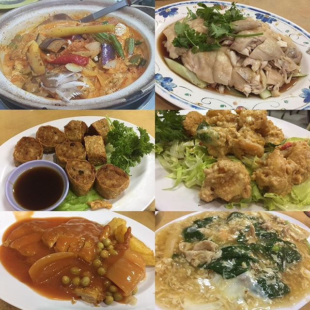 It was Hainanese Theme on a Friday Dine Out Nite 😋 Curry Fish Head ($28) - This was suppose to be their signature & very popular dish.