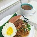 Bee Hoon Set ($5.30) Simple comfort food on a very sunny Saturday ☀️ #burpple