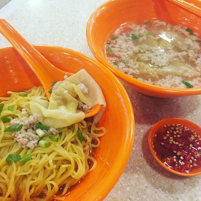 Famous Eunos BCM ($4.50) 🍜 The auntie at the stall was so jovial & friendly!