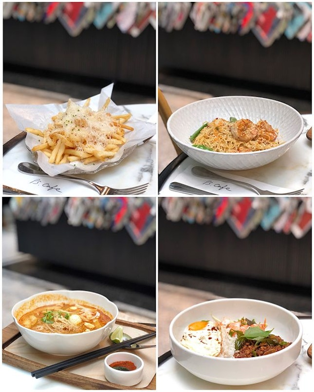 You can now enjoy the signature Shoestring Truffle Fries at a smaller portion!
