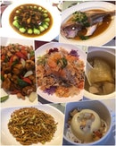 Company CNY Lunch Set @ Mandarin Oriental - not impressive at all in all aspect - taste, service, quality - not satisfied 😶 Yu Sheng - still ok & was unique with 3 types of fish 💬 Chicken Soup - total failure as it was watery, 'felt' empty with no ingredients & tasted served out of microwave 💬 Sichuan Chicken Cube - rich sauce & tasted ok 💬 Dried Oyster with Veg - so so but should have more black Moss with the fish 💬 Hong Kong Style Steamed Fish - this was fresh & good!