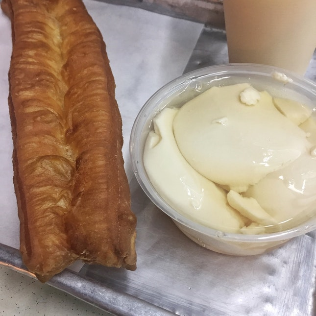 Beancurd + Soya Milk + You Tiao ($4.20)