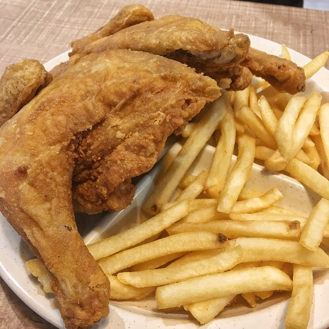 Arnold's Spring Chicken Meal ($12.80)
