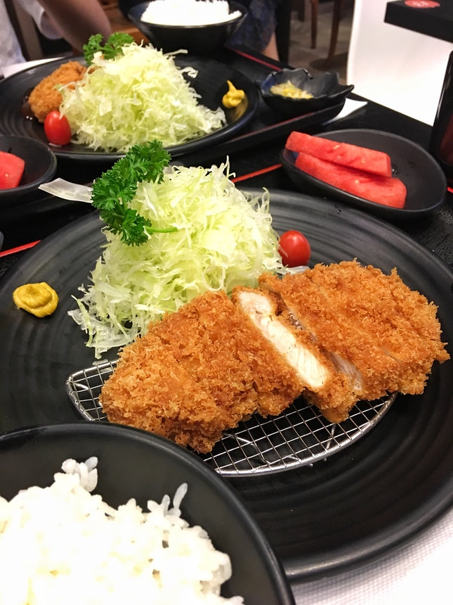 Premium Pork Loin ($21.90), Miso Fillet ($19.50)