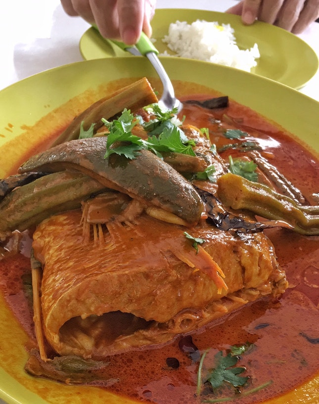 Fish Head Curry ($25)