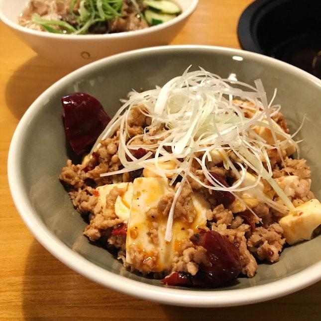 Mapo Tofu Don ($12)