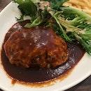 Hokkaido Beef Hamburg (Lunch Special at $15.80)