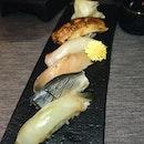 5-Kinds Sushi Selection (part of Rizu Omakase; $35)