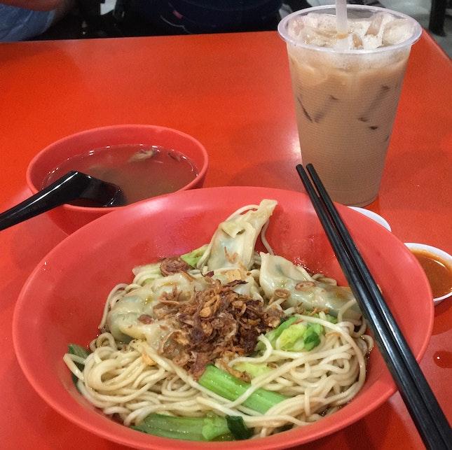 Dry Dumpling Noodles