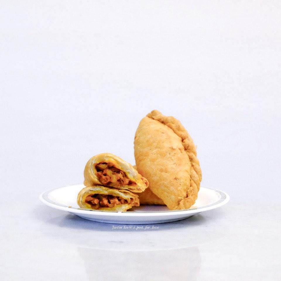Curry puffs [S$1.30 each]