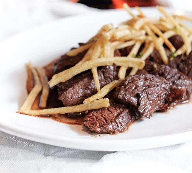 Beef Tallata ($35 for 300g).