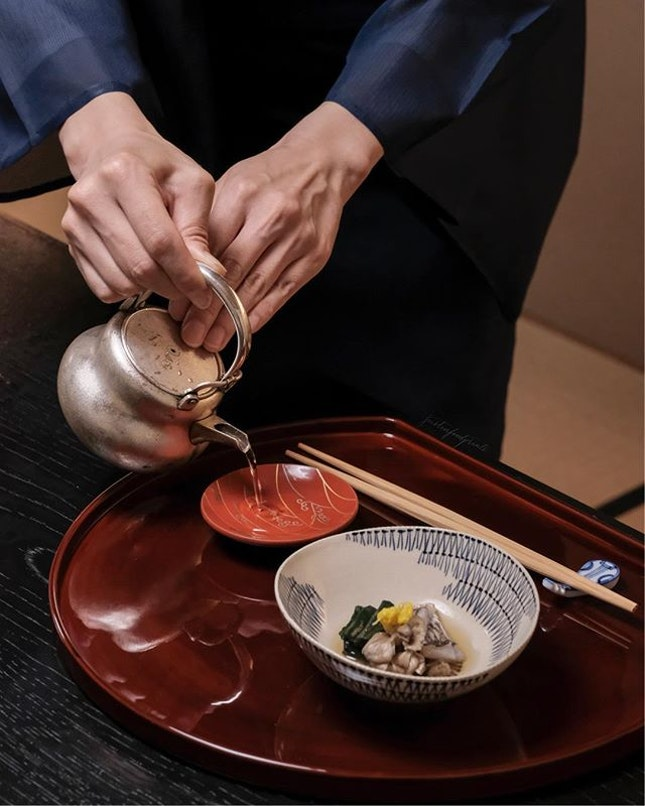 [One Michelin 🌟 Traditional Kaiseki Dinner] Ajikitcho Kaiseki Menu (prices start from 9504JPY = S$120/pax including tax and service charge).