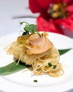 Chilled Capellini with Abalone and Caviar