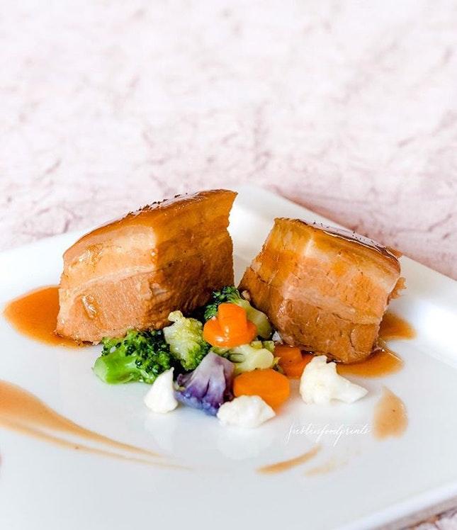 Primrose Pork Belly ($30).