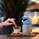 Cookie Monster Milkshake