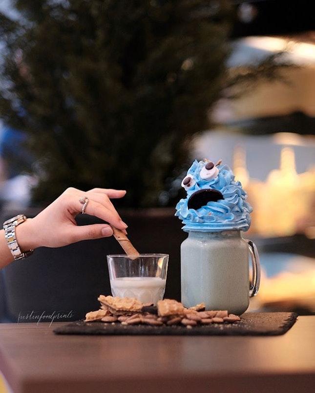 Cookie Monster Milkshake