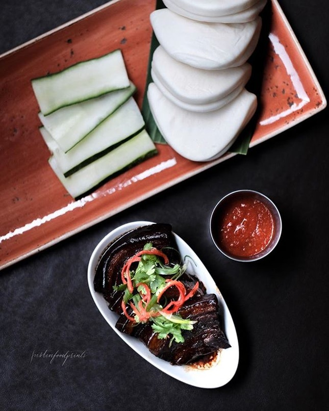 Braised Pork Belly Kong Ba Pau ($24.95).