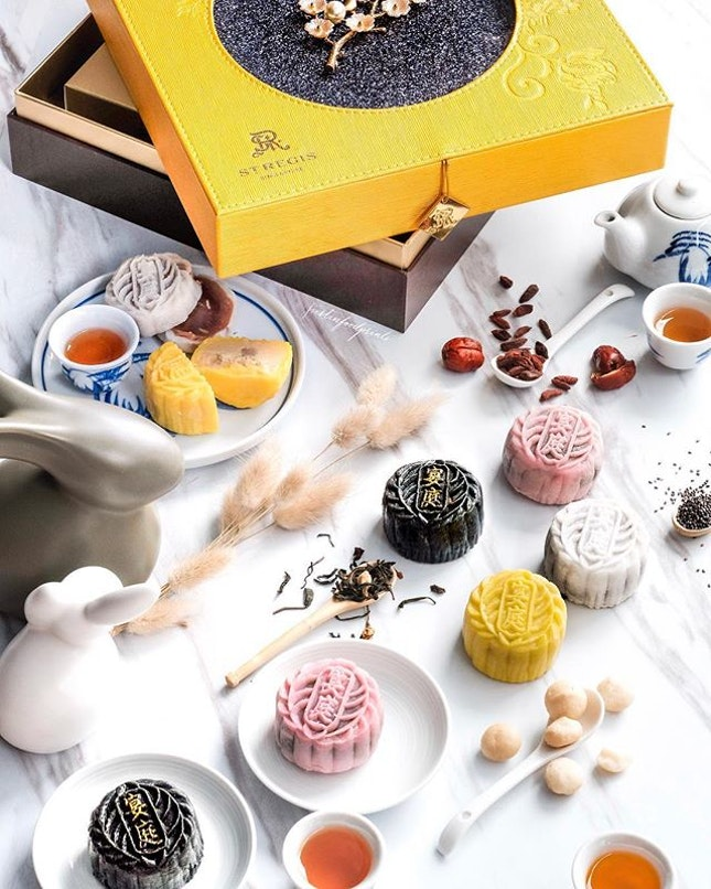 Handcrafted Mini Snowskin Mooncakes ($78 for a box of 8).