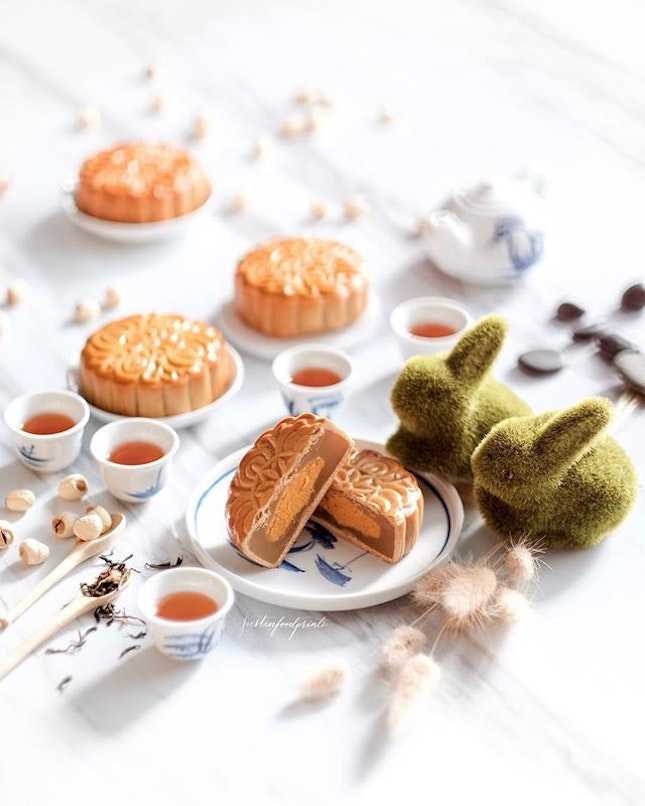 Classic Mooncakes ($56.80 for a box of four).