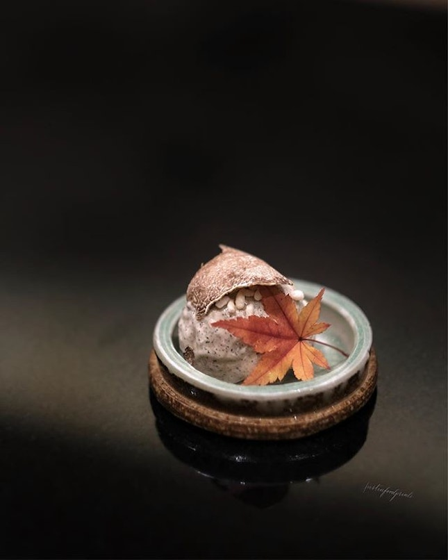 Truffle Ice-cream (inclusive in omakase from $188++ onwards).