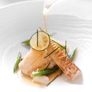 [Till 16 May only] Grouper with Consommé (part of 4 course lunch at $138++ or 8 course dinner at $308++).