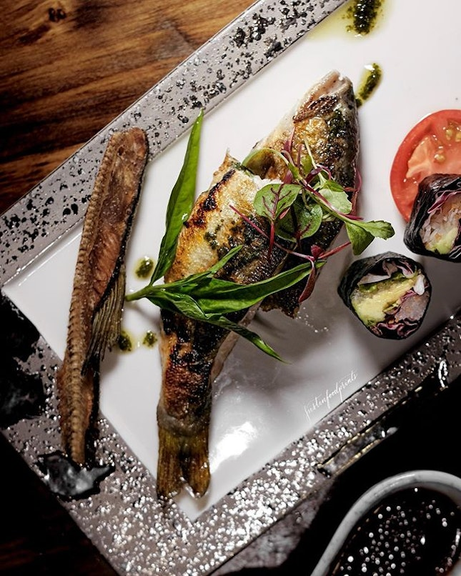Grilled Seasonal Fish (included in omakase menu at $150++).