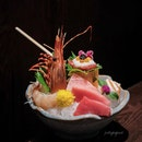 Fukusen Sashimi Platter (part of 8 course omakase at $160++/pax.