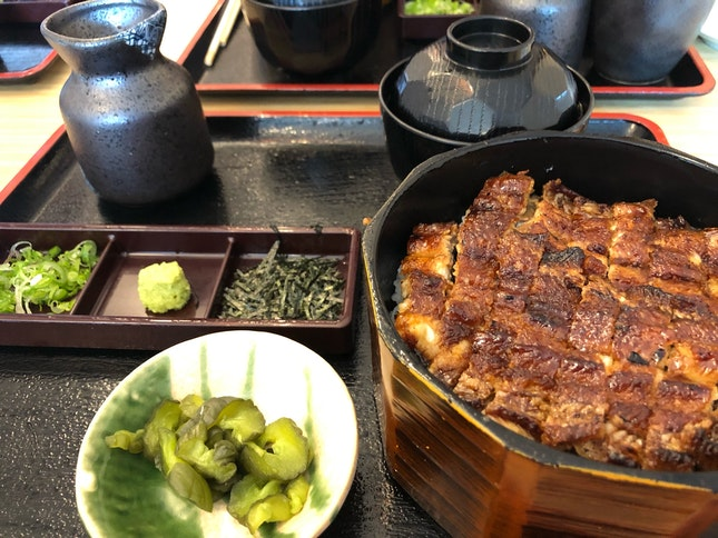 Medium Hitsumabushi ($35++)